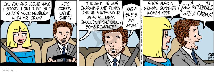 Comic Strip Greg Evans  Luann 2017-06-09 happy