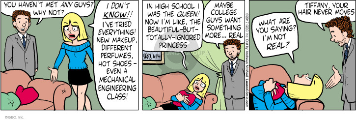 Comic Strip Greg Evans  Luann 2017-06-14 college