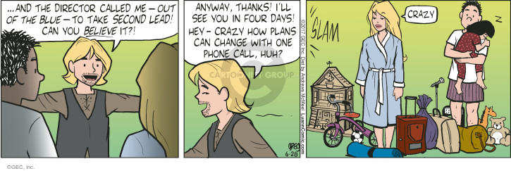 Comic Strip Greg Evans  Luann 2017-06-28 crazy