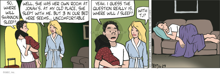 Comic Strip Greg Evans  Luann 2017-06-29 child sleep