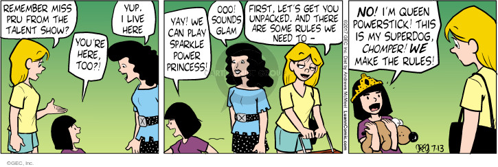 Comic Strip Greg Evans  Luann 2017-07-13 remember
