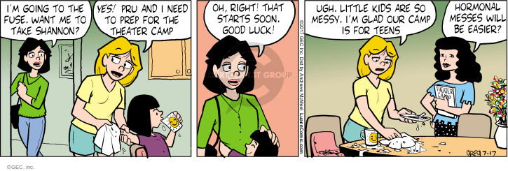 Comic Strip Greg Evans  Luann 2017-07-17 start