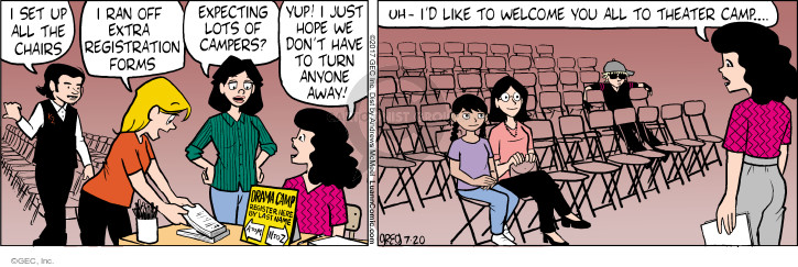 Comic Strip Greg Evans  Luann 2017-07-20 camp