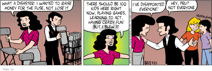Comic Strip Greg Evans  Luann 2017-07-25 crazy