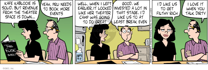Comic Strip Greg Evans  Luann 2017-07-31 theater