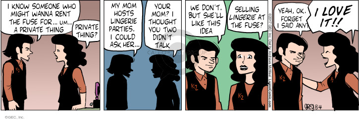 Comic Strip Greg Evans  Luann 2017-08-04 fuse