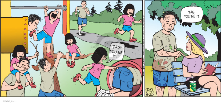 Comic Strip Greg Evans  Luann 2017-08-20 child