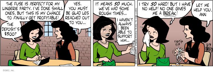 Comic Strip Greg Evans  Luann 2017-08-07 fuse