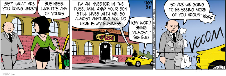 Comic Strip Greg Evans  Luann 2017-08-11 big