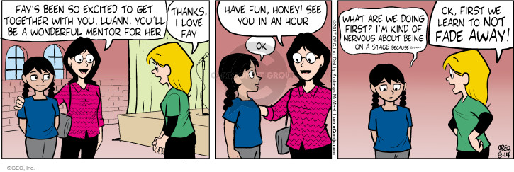 Comic Strip Greg Evans  Luann 2017-08-14 hour