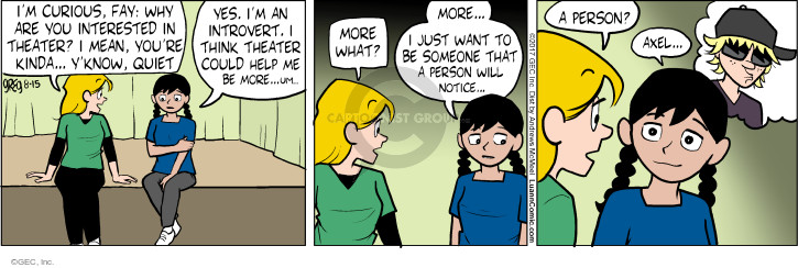 Comic Strip Greg Evans  Luann 2017-08-15 personality