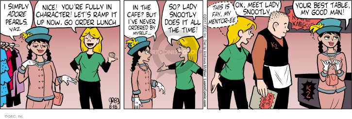 Comic Strip Greg Evans  Luann 2017-08-18 personality