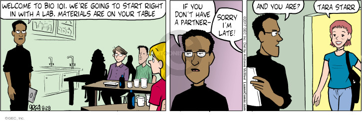 Comic Strip Greg Evans  Luann 2017-08-28 start