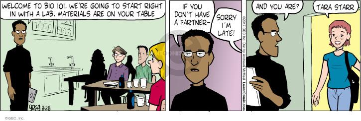 Comic Strip Greg Evans  Luann 2017-08-28 student teacher