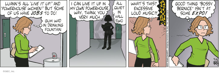 Comic Strip Greg Evans  Luann 2017-09-15 thing