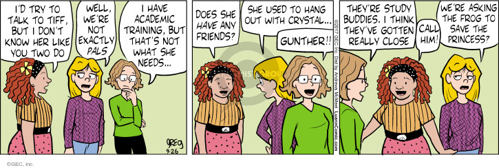 Comic Strip Greg Evans  Luann 2017-09-26 use