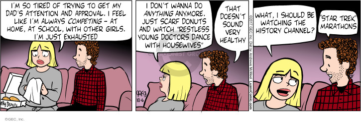 Comic Strip Greg Evans  Luann 2017-10-06 wanna