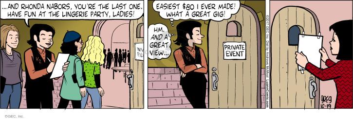 Comic Strip Greg Evans  Luann 2017-10-19 cover