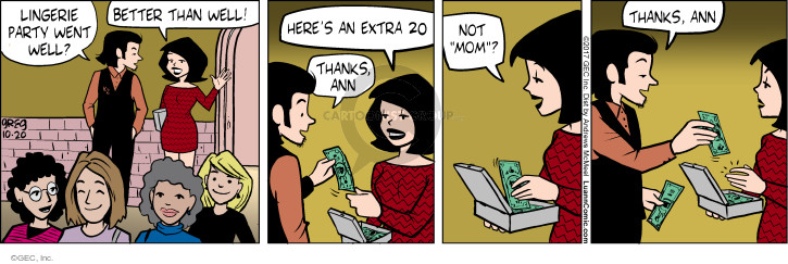 Comic Strip Greg Evans  Luann 2017-10-20 paid