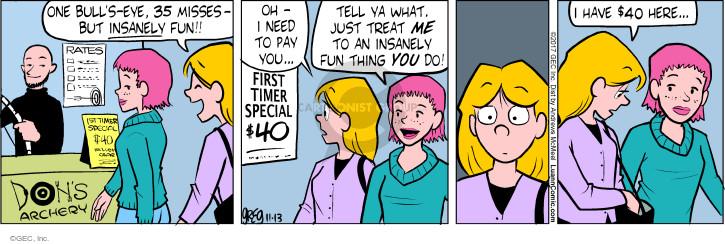 Comic Strip Greg Evans  Luann 2017-11-13 paid