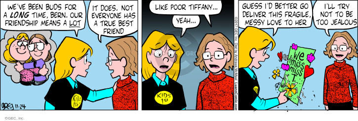 Comic Strip Greg Evans  Luann 2017-11-24 friendship