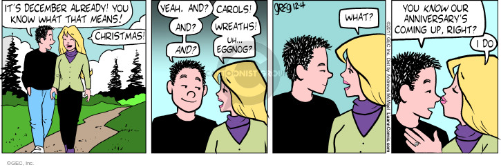 Comic Strip Greg Evans  Luann 2017-12-04 spouse