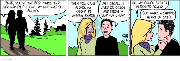 Comic Strip Greg Evans  Luann 2017-12-06 thing
