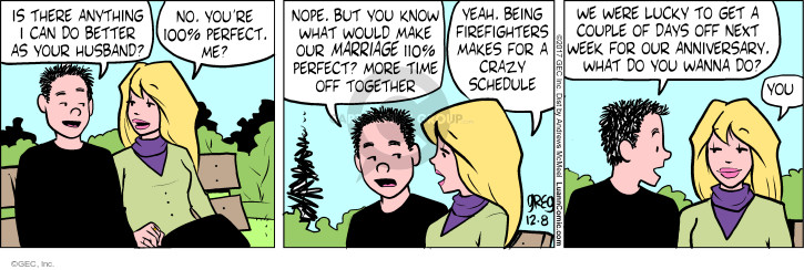Comic Strip Greg Evans  Luann 2017-12-08 spouse