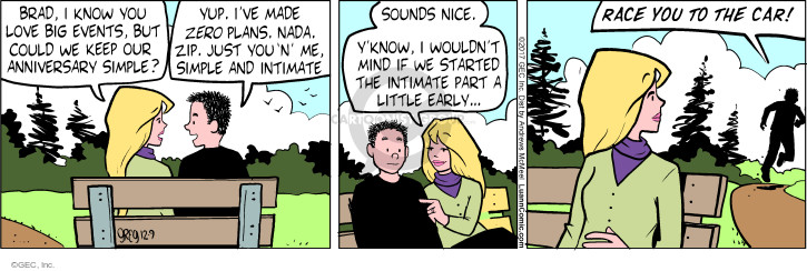 Comic Strip Greg Evans  Luann 2017-12-09 spouse