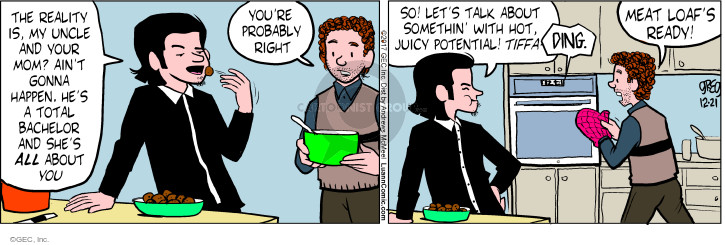 Comic Strip Greg Evans  Luann 2017-12-21 parent
