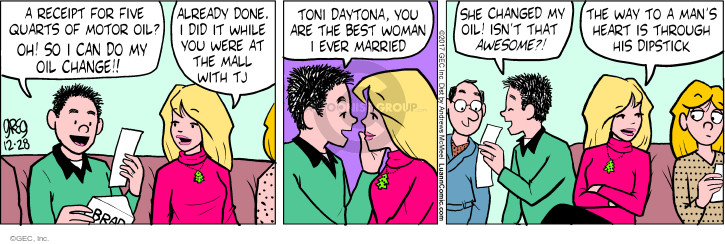 Comic Strip Greg Evans  Luann 2017-12-28 Toni