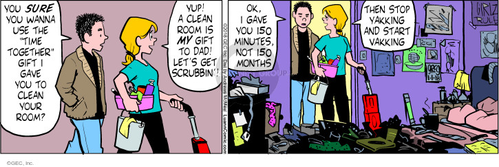 Comic Strip Greg Evans  Luann 2018-01-01 dad