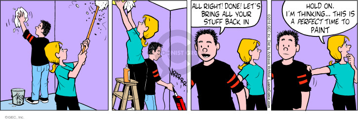 Comic Strip Greg Evans  Luann 2018-01-04 housework
