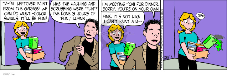 Comic Strip Greg Evans  Luann 2018-01-05 Toni