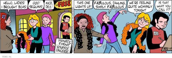 Comic Strip Greg Evans  Luann 2018-01-09 fuse