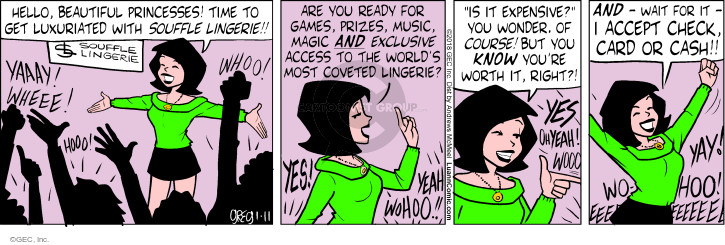 Comic Strip Greg Evans  Luann 2018-01-11 expensive