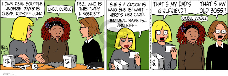 Comic Strip Greg Evans  Luann 2018-01-17 wait