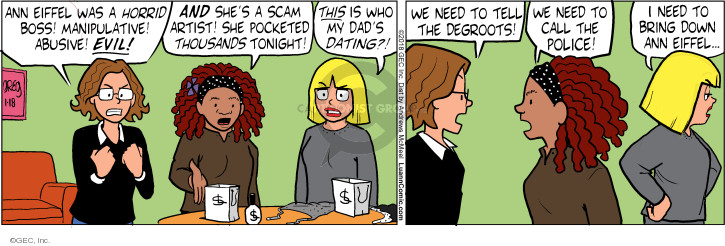 Comic Strip Greg Evans  Luann 2018-01-18 tonight