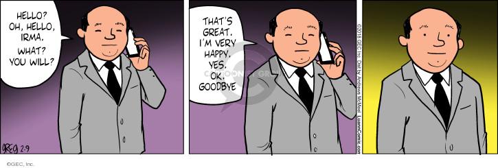 Comic Strip Greg Evans  Luann 2018-02-09 propose