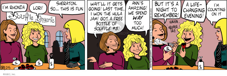 Comic Strip Greg Evans  Luann 2018-02-15 remember