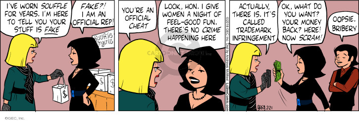 Comic Strip Greg Evans  Luann 2018-02-21 good