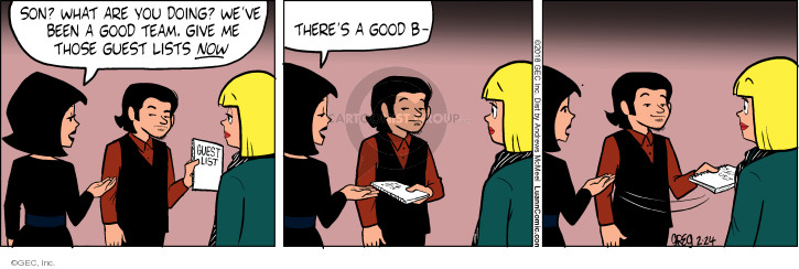 Comic Strip Greg Evans  Luann 2018-02-24 good
