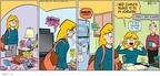 Cartoonist Greg Evans  Luann 2010-03-21 watch television