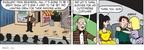 Cartoonist Greg Evans  Luann 2010-04-02 gun