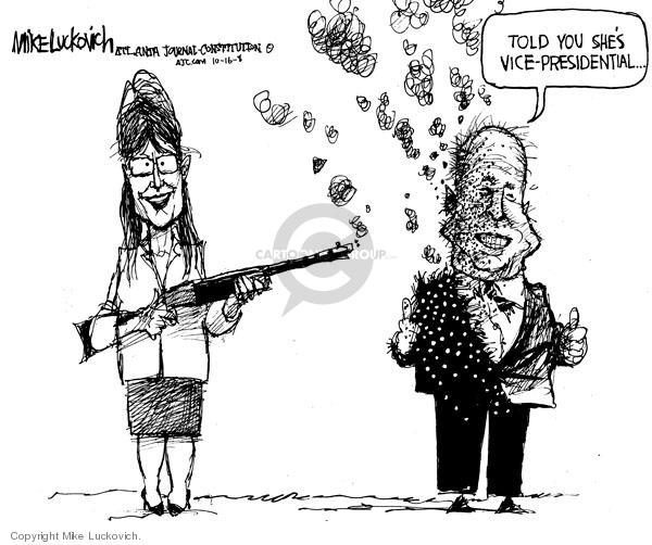 Mike Luckovich  Mike Luckovich's Editorial Cartoons 2008-10-16 John McCain