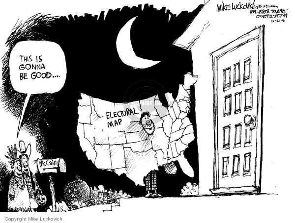 Mike Luckovich  Mike Luckovich's Editorial Cartoons 2008-10-21 2008 election