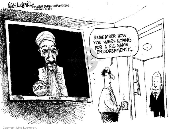 Cartoonist Mike Luckovich  Mike Luckovich's Editorial Cartoons 2008-10-23 name