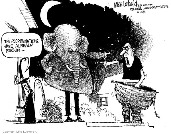 Mike Luckovich  Mike Luckovich's Editorial Cartoons 2008-10-26 2008 election