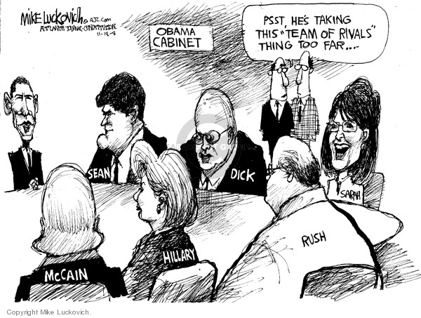Mike Luckovich  Mike Luckovich's Editorial Cartoons 2008-11-18 Sean