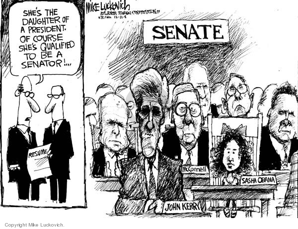 Mike Luckovich  Mike Luckovich's Editorial Cartoons 2008-12-19 John McCain